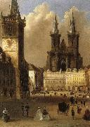 Samuel Lovett Waldo Prague oil painting